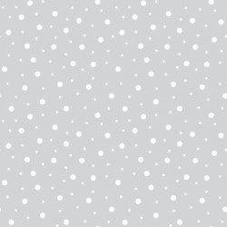 Lil' Sprout Flannel Too Random Dots Grey F8228KW