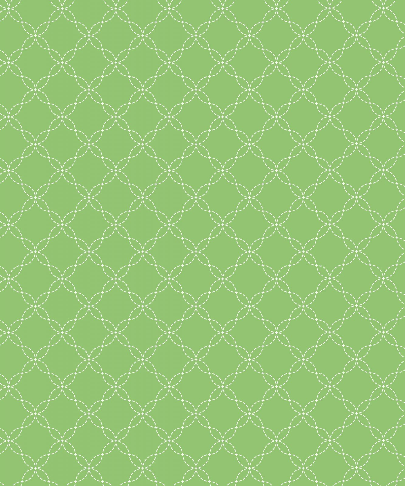 Lil' Sprout Flannel Too Lattice Green F8230G