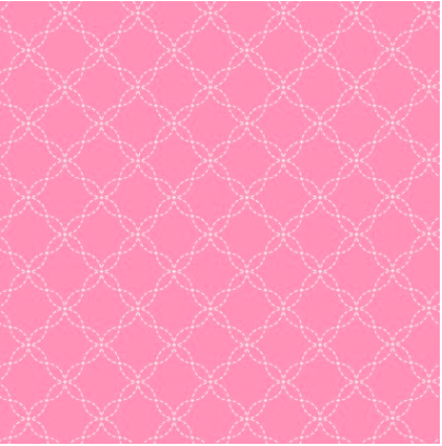 Lil' Sprout Flannel Too Lattice Pink F8230P