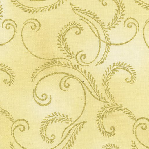 Autumn Splendor Gold Garland Cream 8419M07B