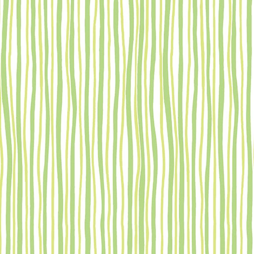 Funny Bunnies Wavy Stripe Green/Lime 0854344B