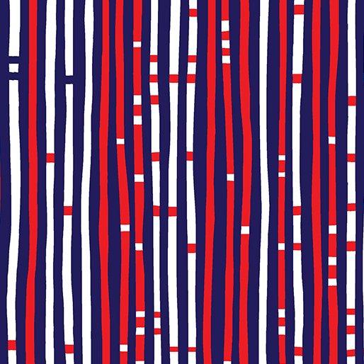 Love American Geo Stripe Navy 8586-55