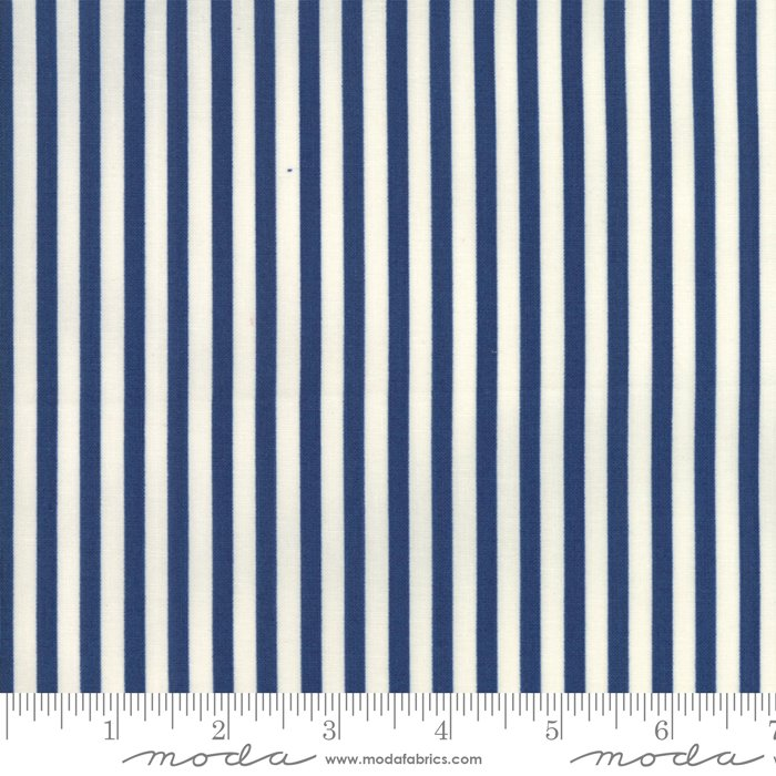 Essentially Yours Stripe Liberty Blue 8652 75
