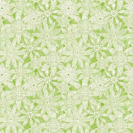 Mandala Tango Stacked Mandalas Green 9654-60