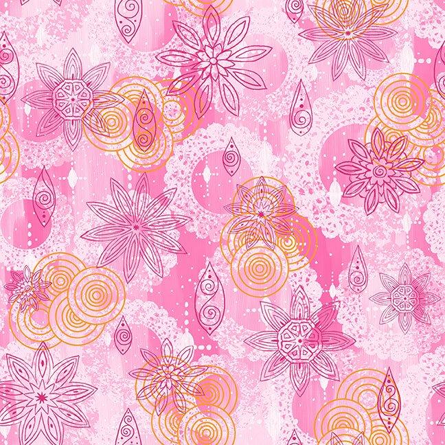 Mandala Tango Texture Pink 9655-22
