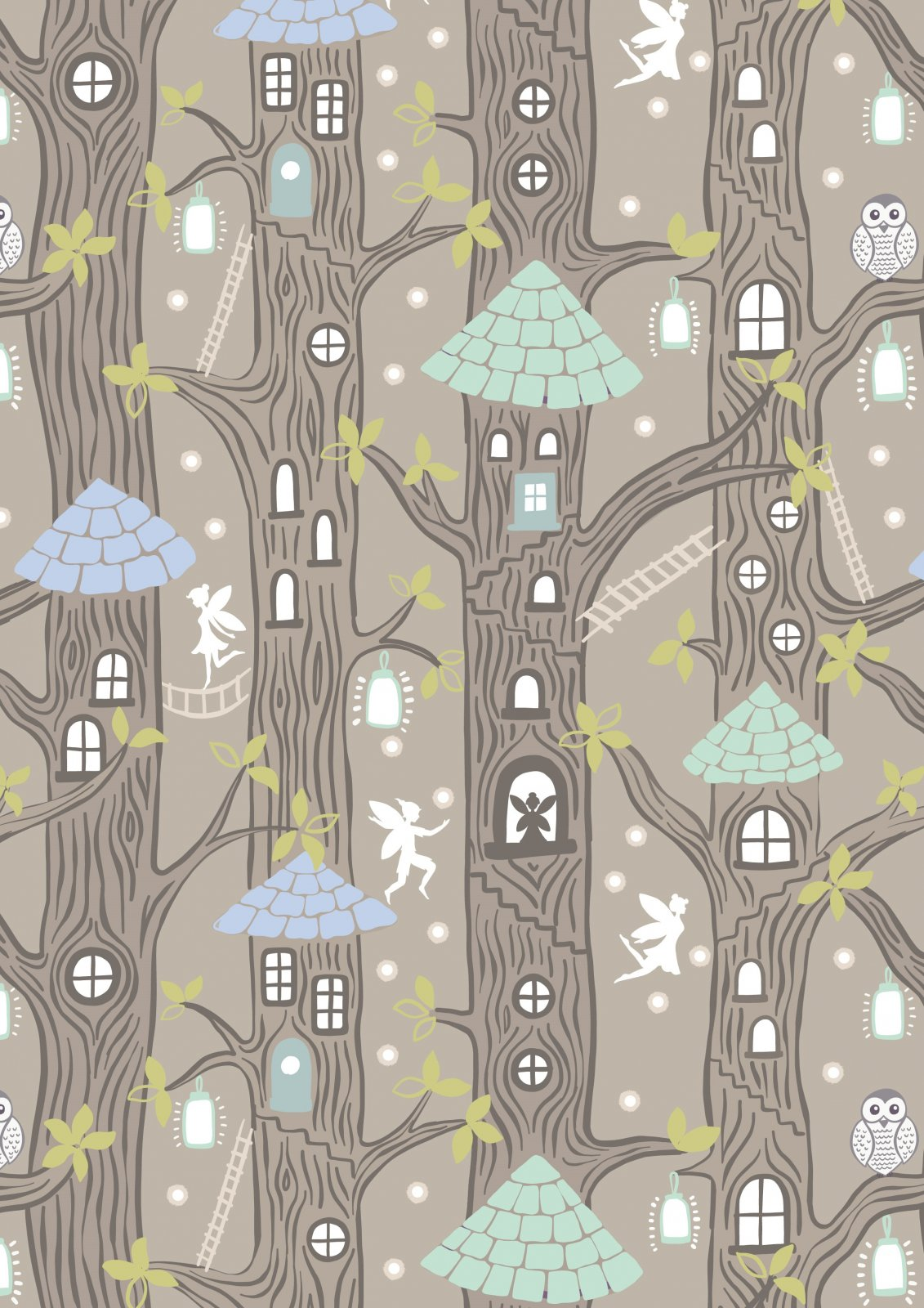 Fairy Lights Fairy Houses Natural