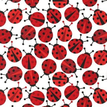 Urban Zoologie Ladybugs on white 11504-3