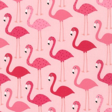 Urban Zoologie Flamingos on pink 14719-10