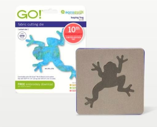 GO! Accuquilt Leaping Frog 55199