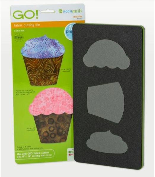 GO! AccuQuilt Cupcake Die 55097