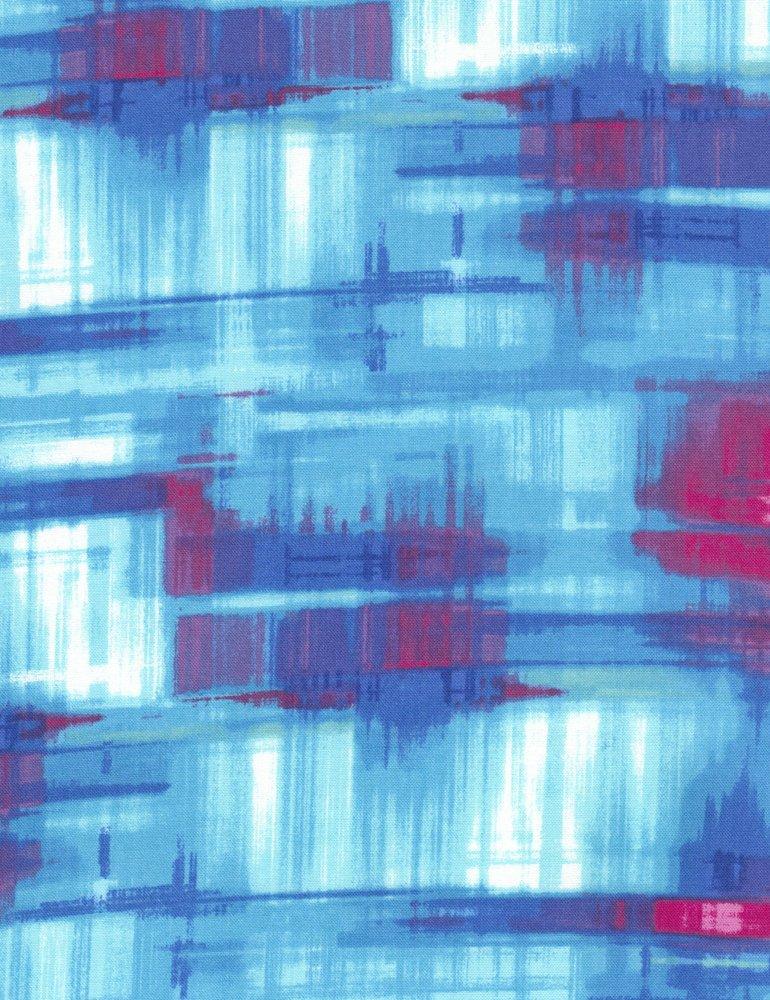 Ambrosia Abstract Plaid C4836-Turq