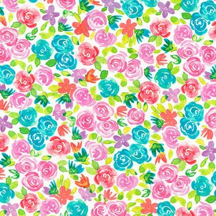 Girl Power 2 Flowers ATYD-18419-263 RAINBOW