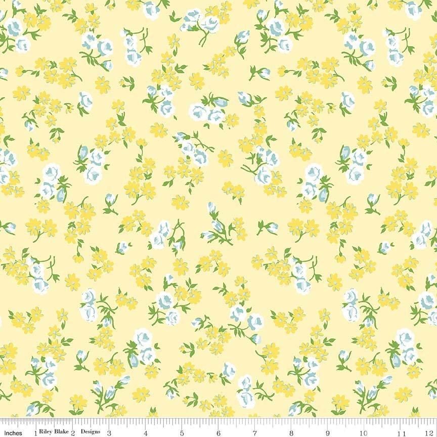 Dainty Darling Daisy C5852-Yellow