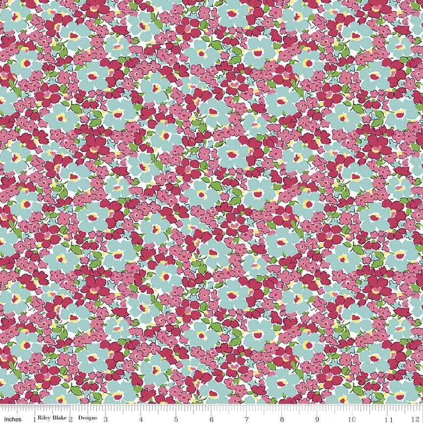 Dainty Darling Floral C5853-Pink