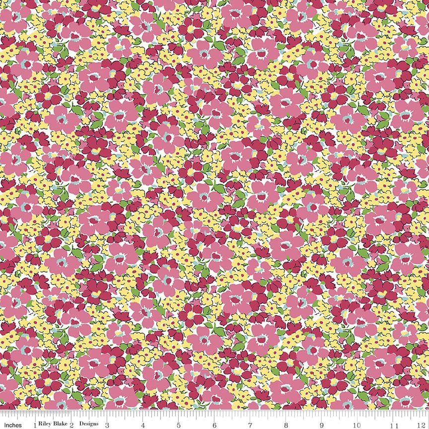 Dainty Darling Floral C5853-Yellow