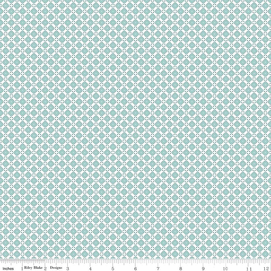 Dainty Darling Diamond C5856-Aqua
