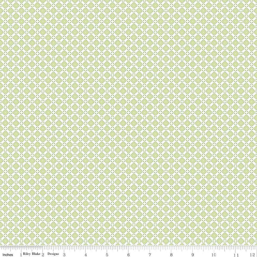 Dainty Darling Diamond C5856-Green