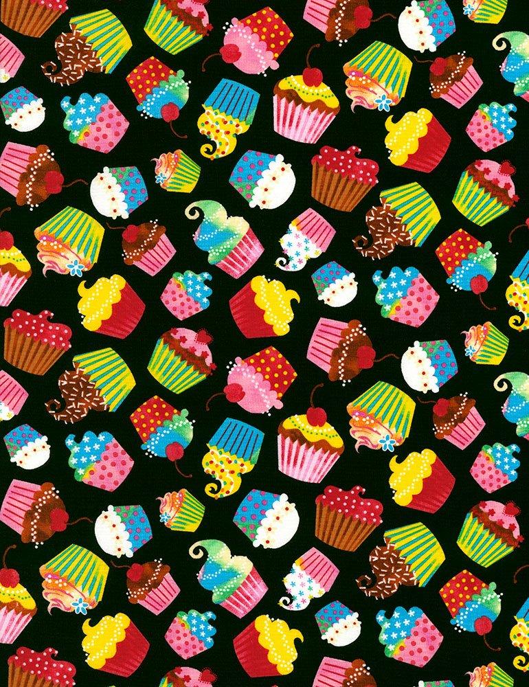 Cupcakes C5882BLACK