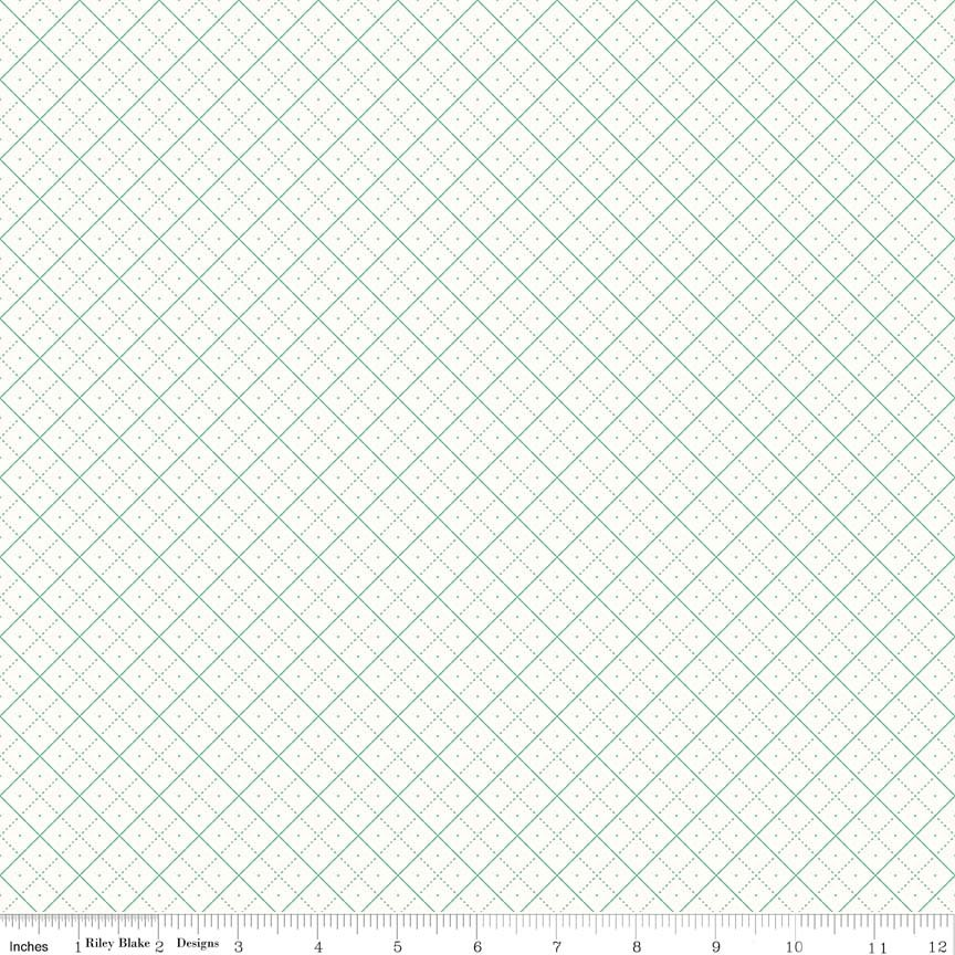 Bee Backgrounds Grid Teal C6383-TEAL