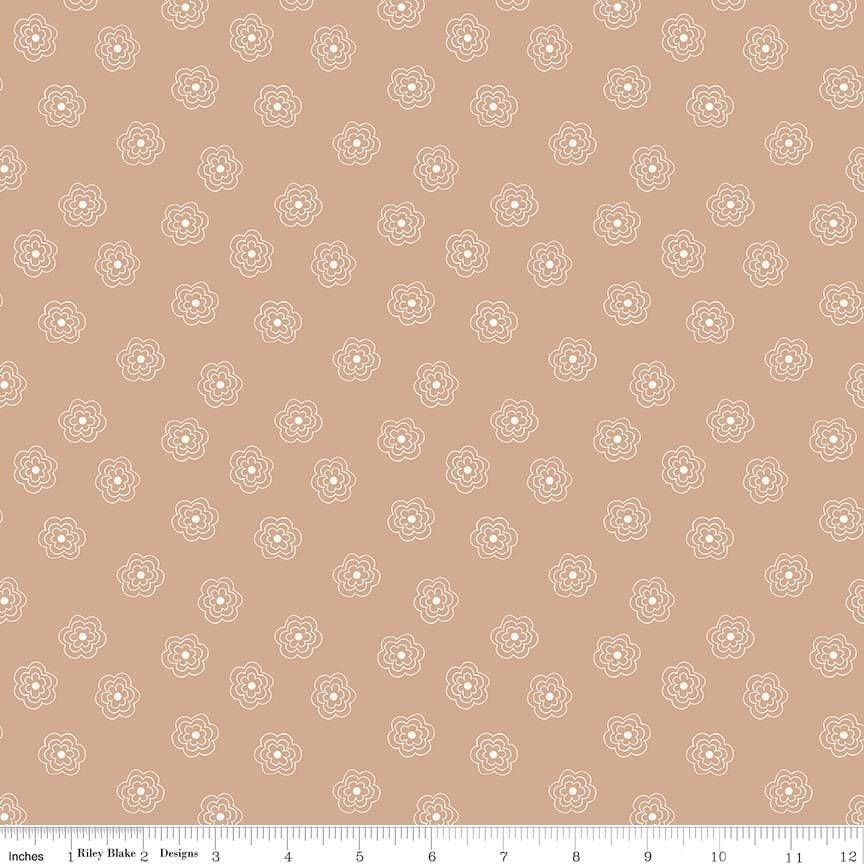 Bee Basics Blossums Nutmeg C6404-NUT