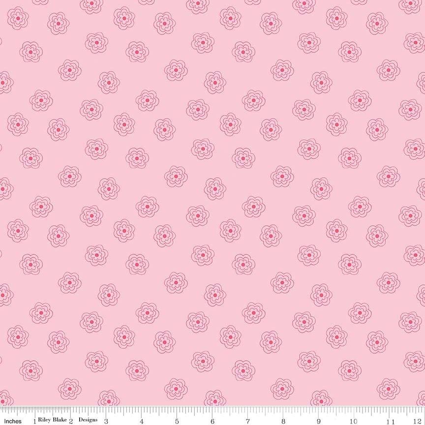 Bee Basics Blossums Pink C6404-PINK