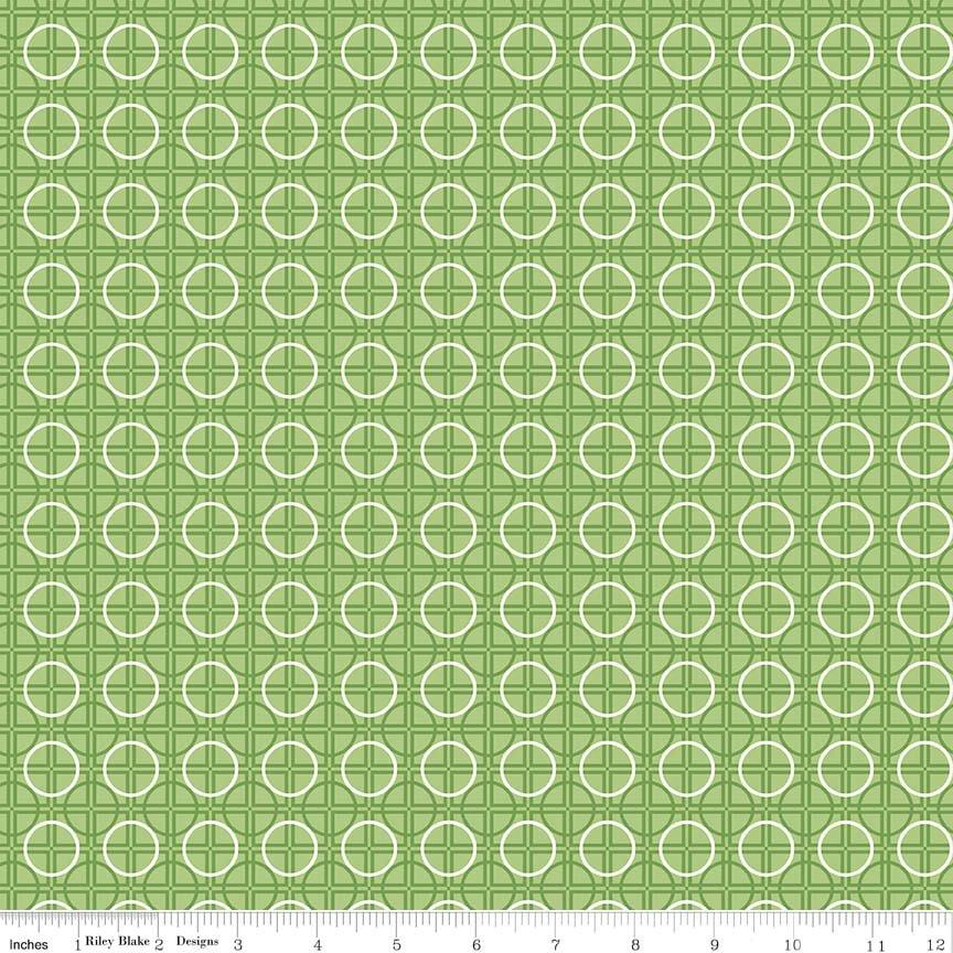 Bee Basics Circle Green C6407-GREEN