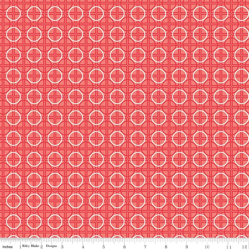 Bee Basics Circle Green C6407-RED
