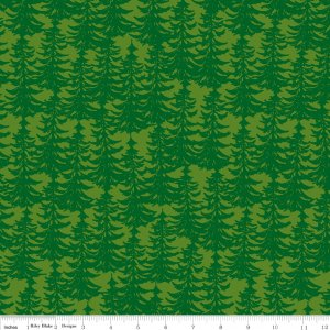 The Great Outdoors Trees Light Green C6754-LTGREEN