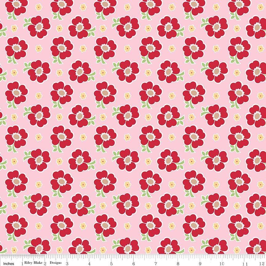 Bake Sale 2 Floral Pink - C6983-PINK