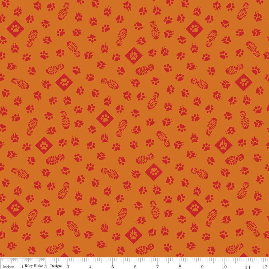 Cub Scouts Paws - Orange C7202-ORANGE