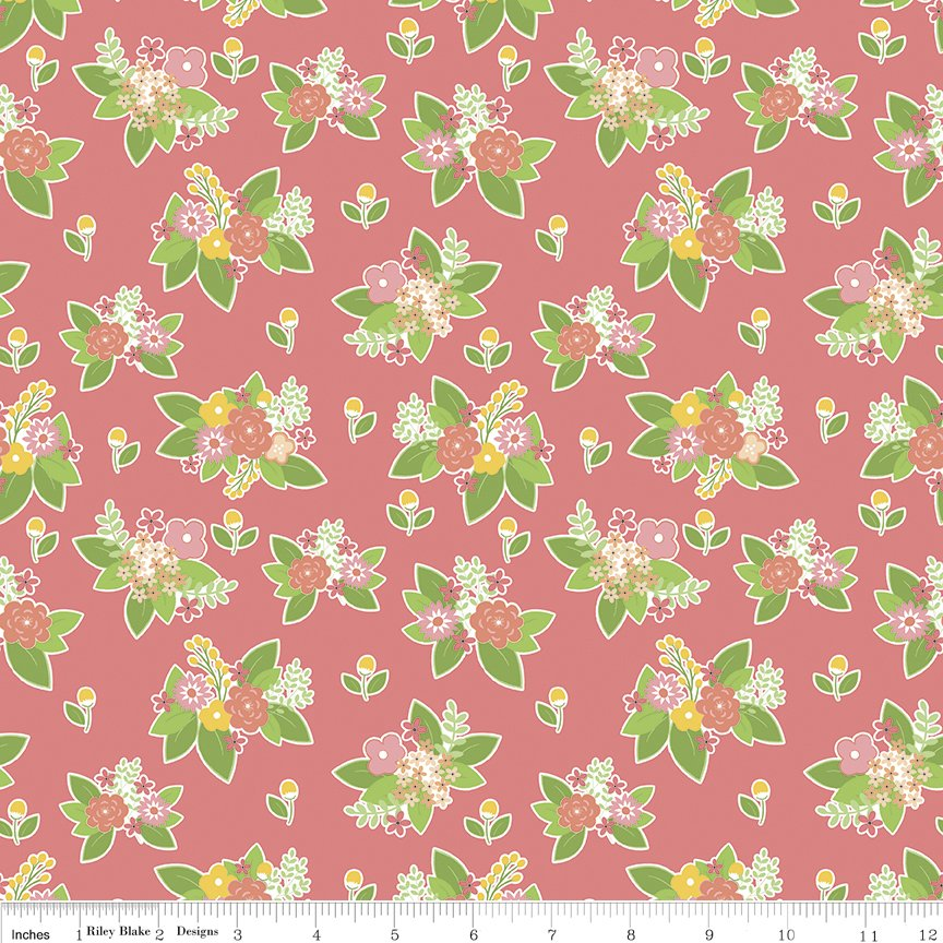 Vintage Adventure Floral C7274-PINK