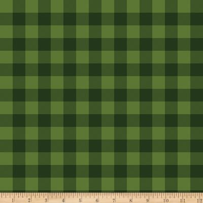 Christmas Delivery Plaid C7336-Green