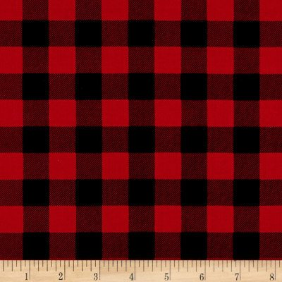 Christmas Delivery Plaid C7336-Red
