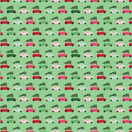 Merry and Bright Cars Lt. Green C8393-Lt.Green