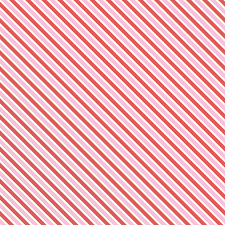 Love Letters Stripe Pink