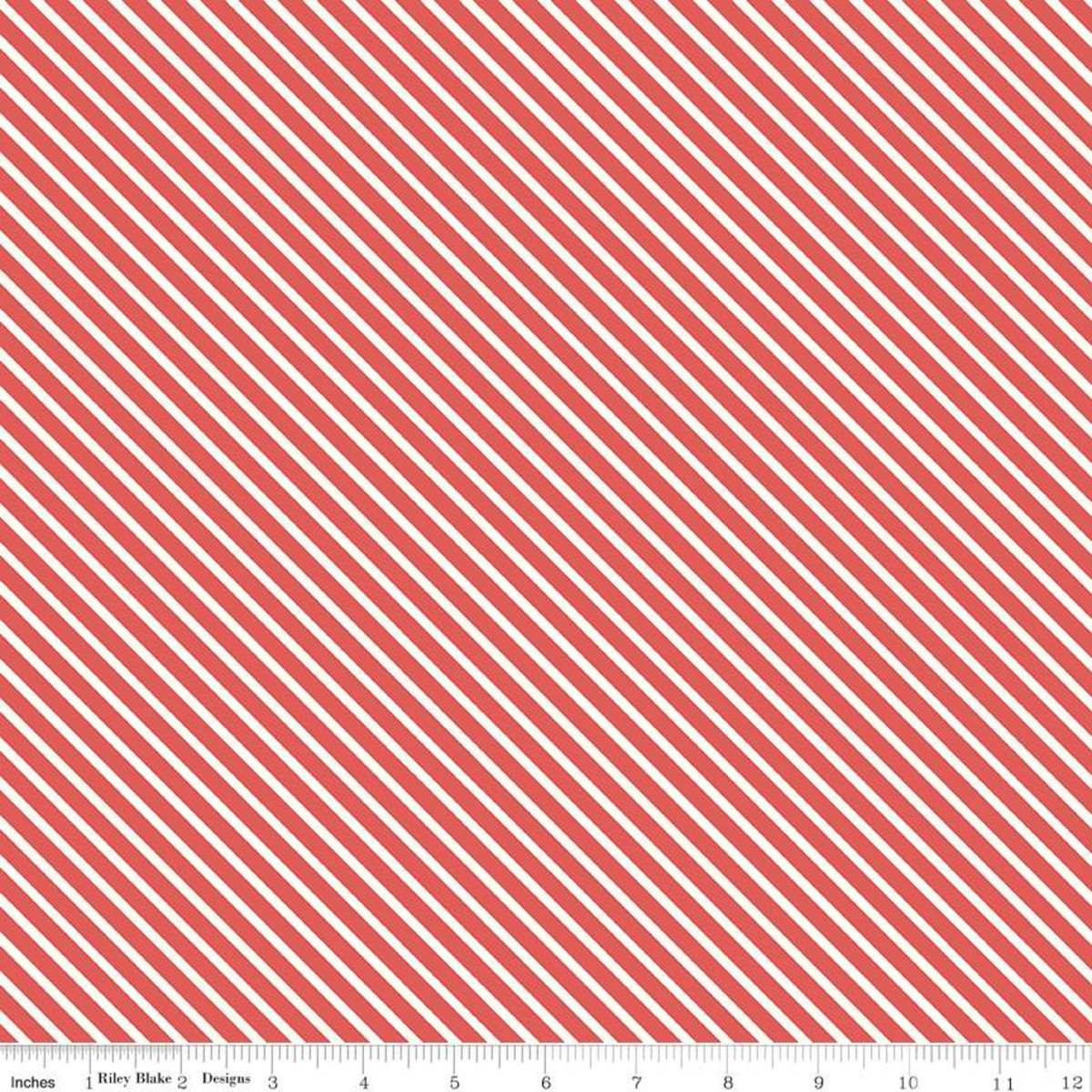 Love Letters Stripe Red