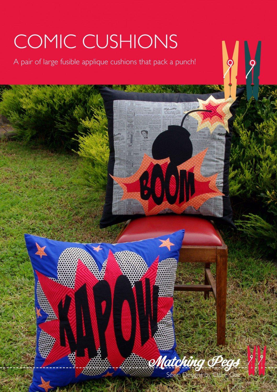 Comic Cushions # CACG030
