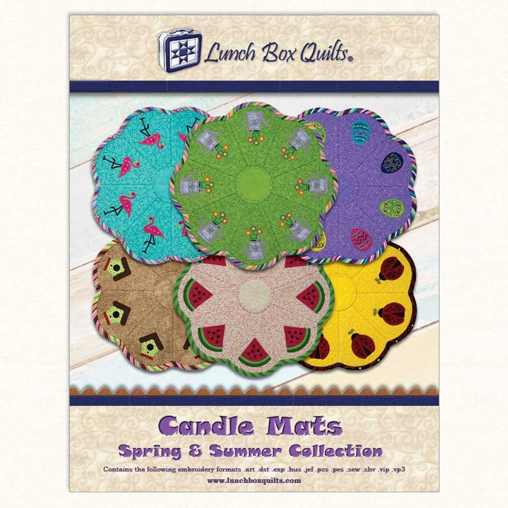 Candle Mats Spring and Summer Pattern  EC-CA2-DD