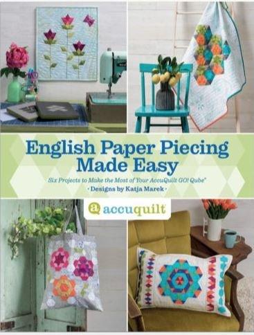 English Paper Piecing Made Easy Pattern Book by Katja Marek