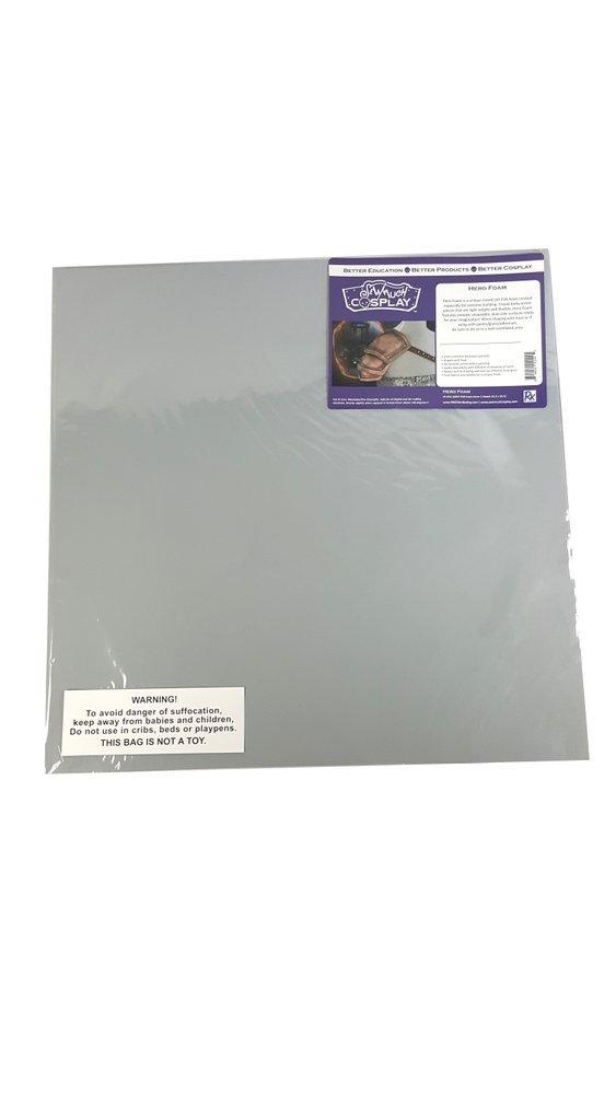 Hero Foam-Grey Eva 6mm- 2 Sheets Per Pkg