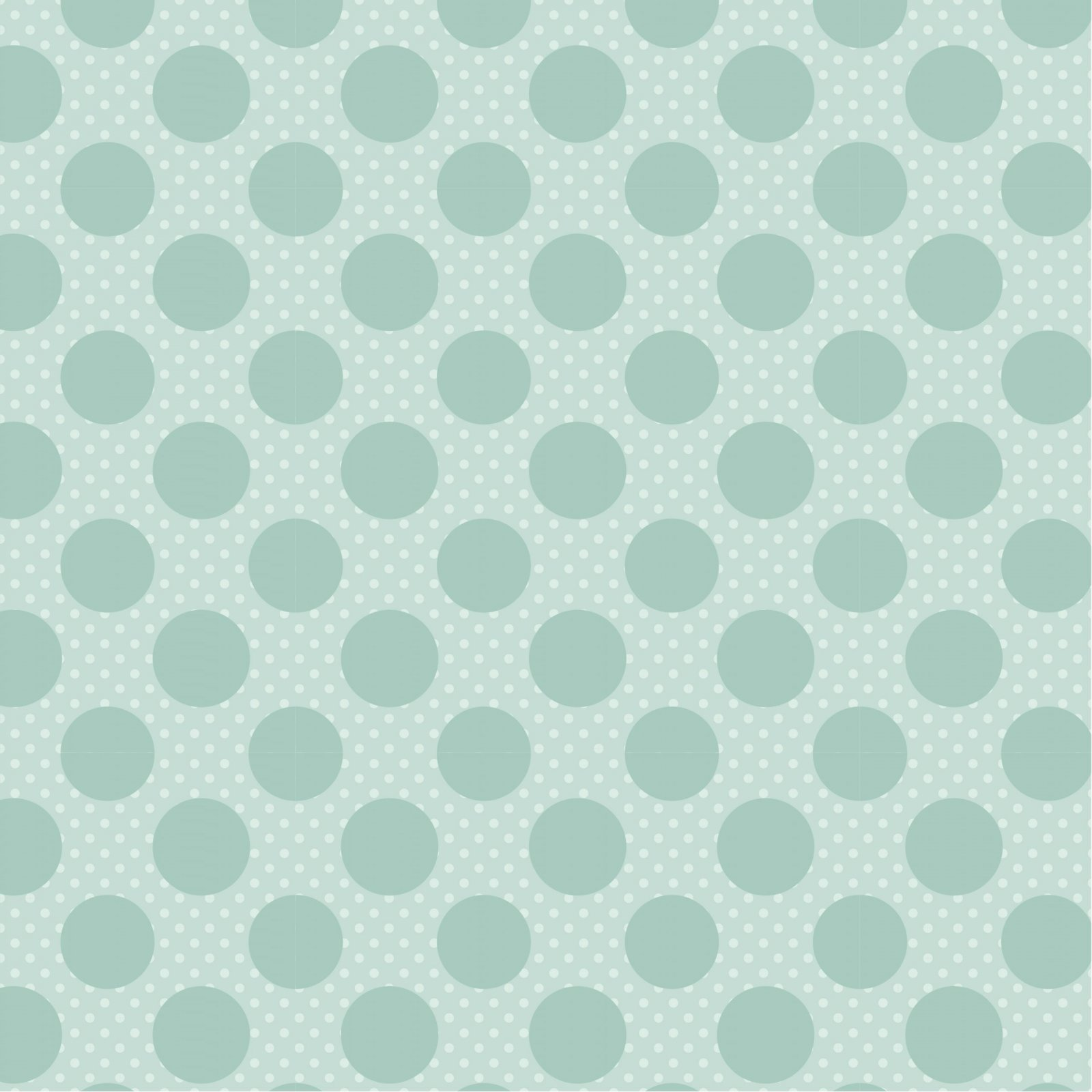 Dots & Poppies - Dots on Dots Green