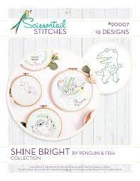 OESD Embroidery Pattern Shine Bright Collection Pattern CD 90007CD