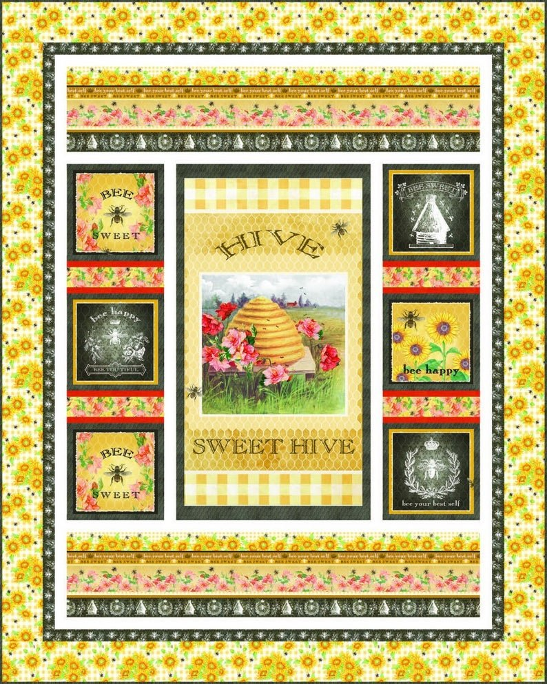 Bee Sweet - Bee Sweet Quilt Kit - by Studio E Fabrics