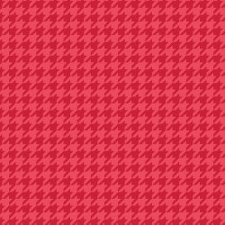 Lil' Sprout Flannel Too Houndstooth Red F8225R
