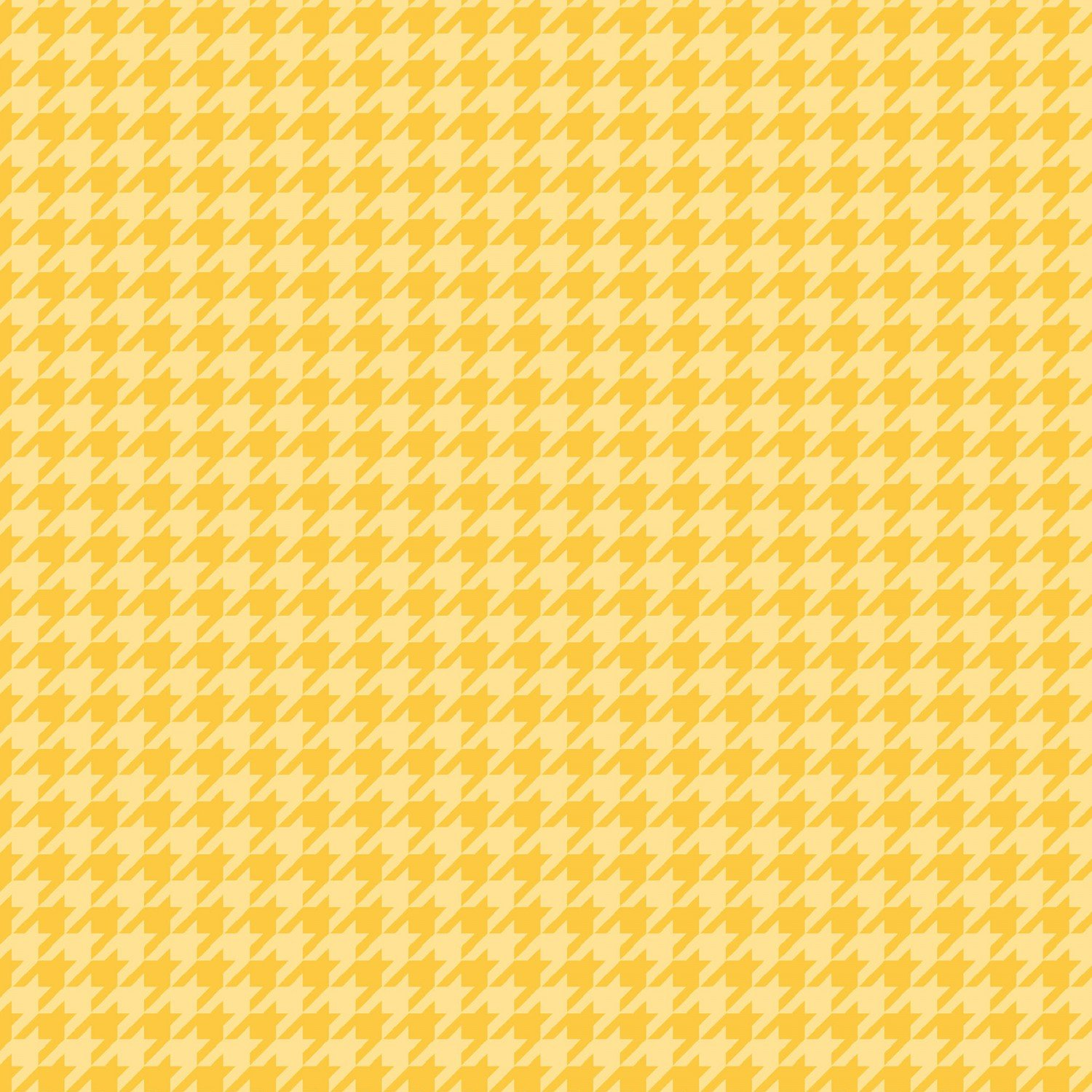Little One Flannel Sunny-yellow Houndstooth  F8225-S