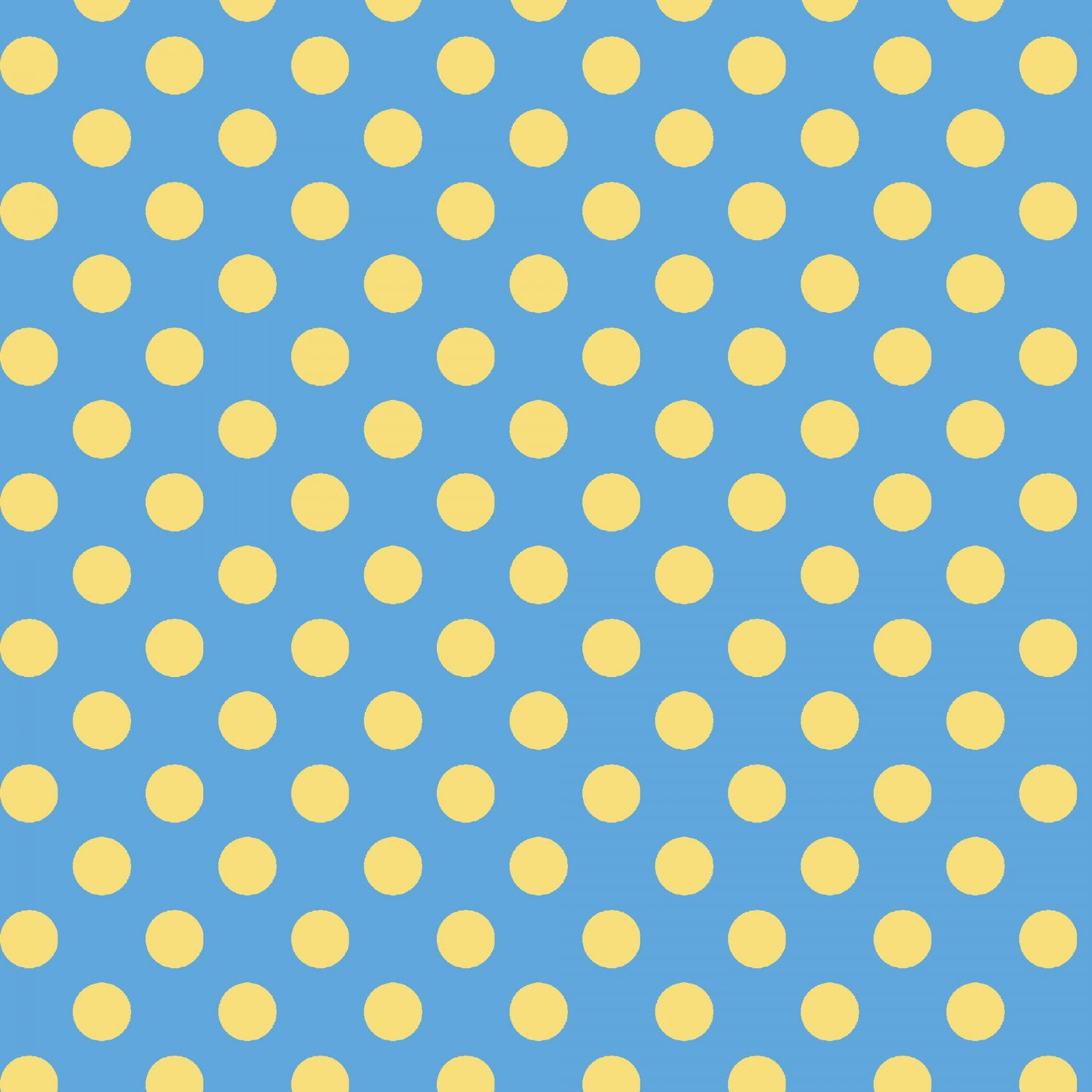 Little One Flannel Blue-yellow Dots  F8227-BS