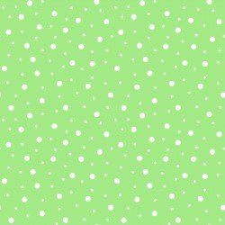 Lil' Sprout Flannel Too Random Dots Cool Green/White F8228GW2