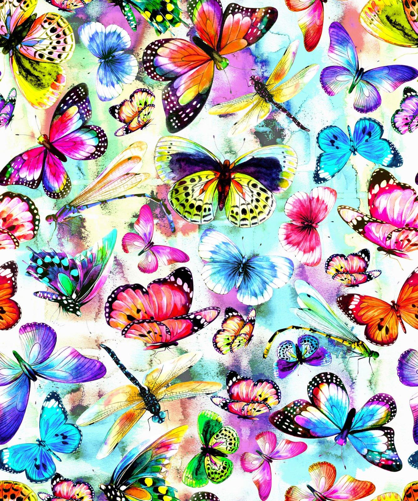Fantasy Butterflies Multi 5919701