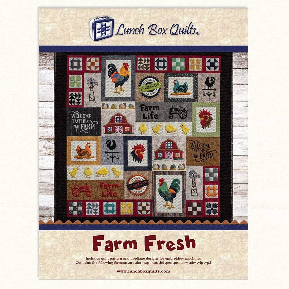 Farm Fresh Applique ME Quilt With Redemption Code