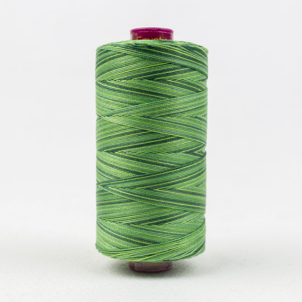 Fruitti - Evergreen - 12 Wt 100m Variegated Thread